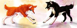 Nash and Baka by TheWinterRaven