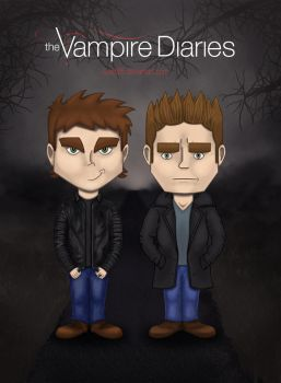 The Salvatore Brothers by iLeeh95