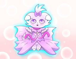 Magical Girl Espurr by Spice5400
