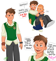 BULLY: GARY WHAT'RE YOU.. by lewisrockets