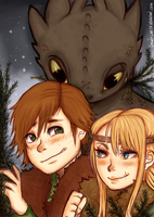 HTTYD - Winter days by LooneyLolita