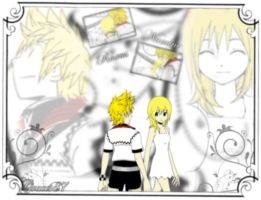 Roxas Namine happiness by Graces87