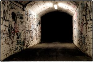 Dark Tunnel by Valances-Irons