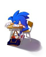 school sonic by Yokeching