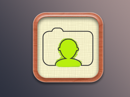 Coloring app icon by tickey