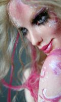 Pink Painted Faerie 1 by wingdthing