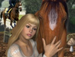 Tears 4 Barbaro by BrokenWings3D