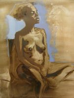 Nude female by jaiquanfayson