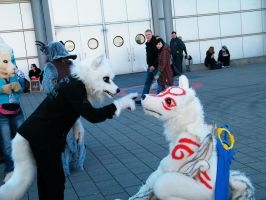 BigWolf and Amaterasu 06 by Swarsulf-Asgar