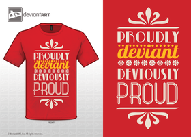 Proudly deviant, deviously proud by gingergenius