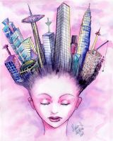 The city in my head by Mobicca