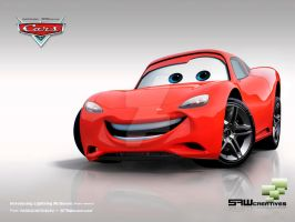 Lightning McQueen road version by yasiddesign