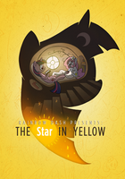'Rainbow Dash Presents: The Star in Yellow' Poster by petirep