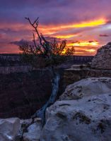 North Rim Sunset by sequential