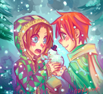 Snow love by NatsyLove