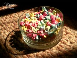 Photo - Lucky Stars in a bowl by SCCreations