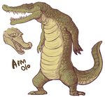 crocodilio by NotParticularly