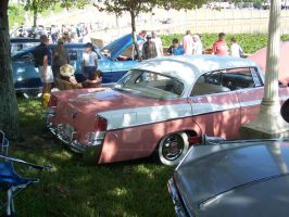 1956 Chrysler Windsor IV by darquewanderer