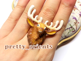Deer Ring by prettyorients