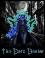 Luna The Dark Dealer movie poster text by coonk9
