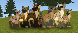 Clan Of Amali MLP Style WIP by The-Smile-Giver