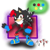 Devis the Hedgehog - colored by AR-ameth