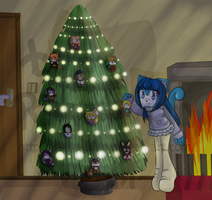 .: Christmas Picture 2011 NonAnimated :. by Raika-chan