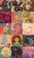 Color Palette Meme 2 by sharkie19