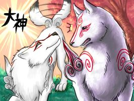 Ammy meets Shiranui -collab- by SueaNoi