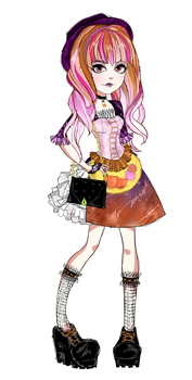 Ever After High OC - Liberty Witch by Fleurabelle