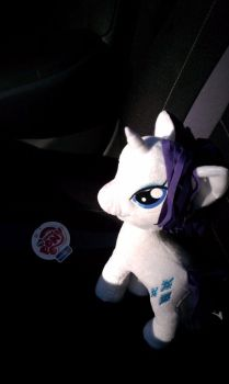 Rarity Plush (Funrise) by SkycatcherEquestria