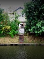 House on the canal by Sir-Waz
