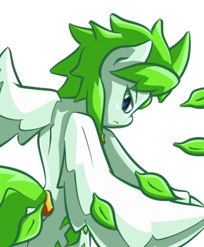 OC- Green Storm- Ready by GamefreakDX