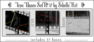 Icon bases Set No.17 by Sibelle