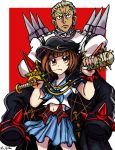 Mako and Gamagori by TheLivingShadow