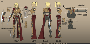 Character Sheet Vengeance by C0MR4DE