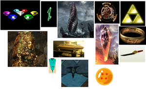 Quiz Of The Day: Objects of Power / Destruction by ManicSam