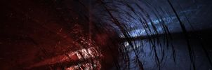 """Torn Inner Space for Dual 24"""" by 3RDAXISDesign"""
