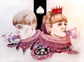 jack and queen by monsieur-arlequin
