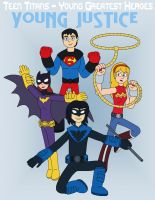 Young Justice by MCsaurus