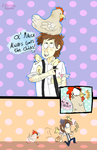 AT: Old Macca and his Chicks by KabouterPollewop
