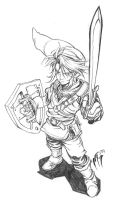 Link Sketch by MarcelPerez