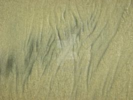 Carlsbad Beach_sand ripples by azndlish
