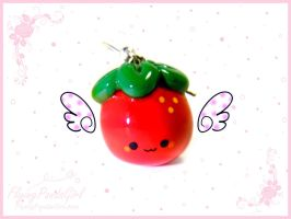 Strawberry Charm by FlyingPandaGirl