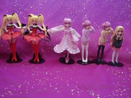 more shugo chara figures by kcat13
