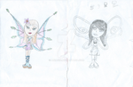 IKS the main characters original Concept Art 2008 by Ania626