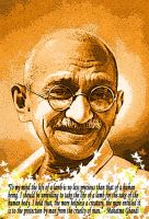 So Spoketh - Mahatma Ghandi by NoArtisticWorth
