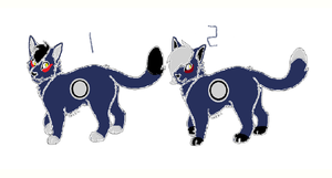 Point CatTwins Adopt {CLOSED} by AvalaAdopts