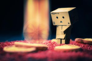 Beam me up, Danbo! by EpicRed