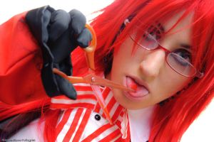grell photoshoot - 4 by gattomannaro